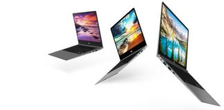 Laptop mỏng nhẹ LG