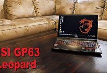 MSI Laptop GP63