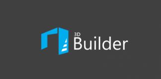 Logo 3D Builder Windows