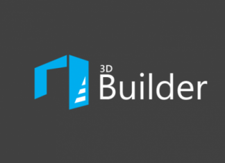 Logo 3D Builder Windows