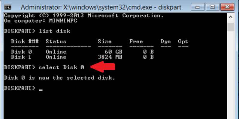 Hướng dẫn sửa lỗi Windows cannot be installed to this disk, the selected disk has an mbr partition style 5