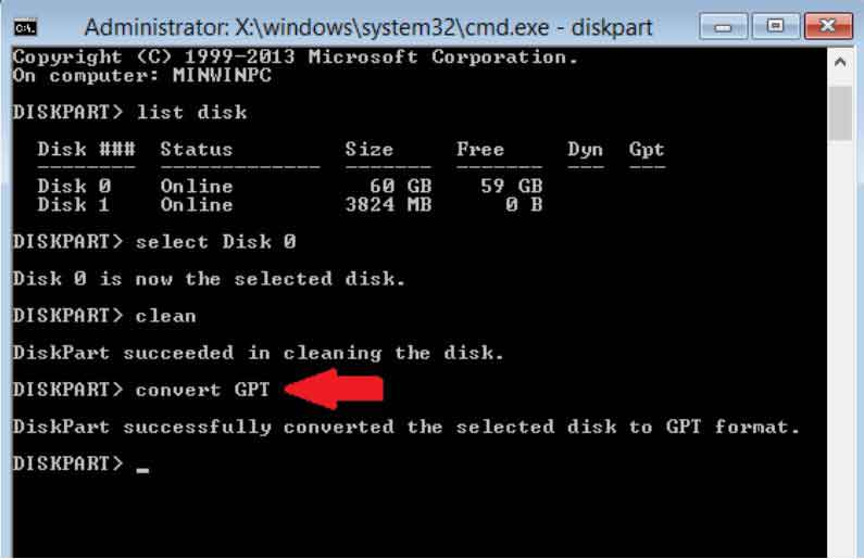 Hướng dẫn sửa lỗi Windows cannot be installed to this disk, the selected disk has an mbr partition style 7