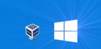 Portable VirtualBox Windows 10 Usage