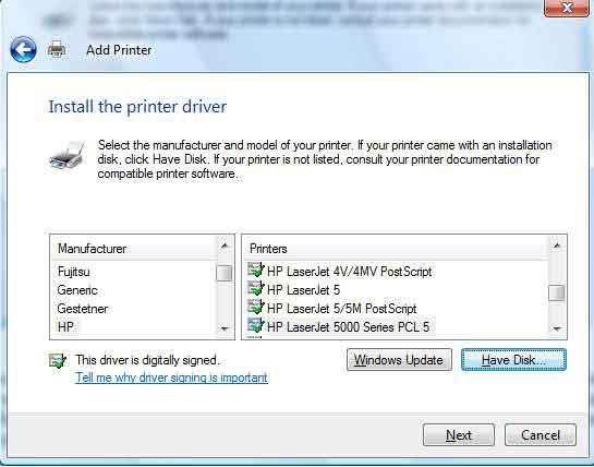 Sửa lỗi Windows cannot connect to the printer với Local Port 6