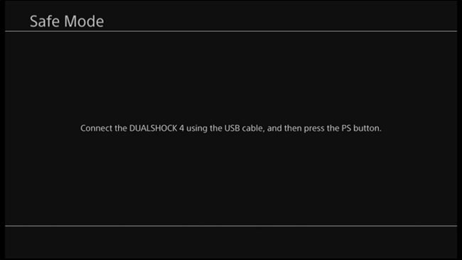 Cách cập nhật thủ công Frimware cho máy Playstation 4