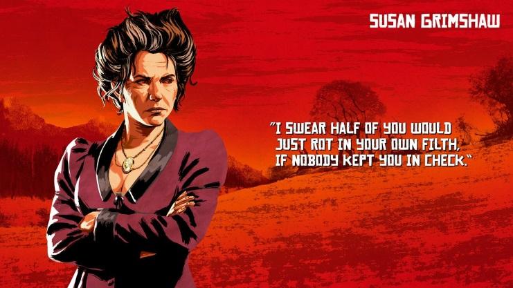 Red Dead Redemtion 2 lộ diện một số hình ảnh nhân vật