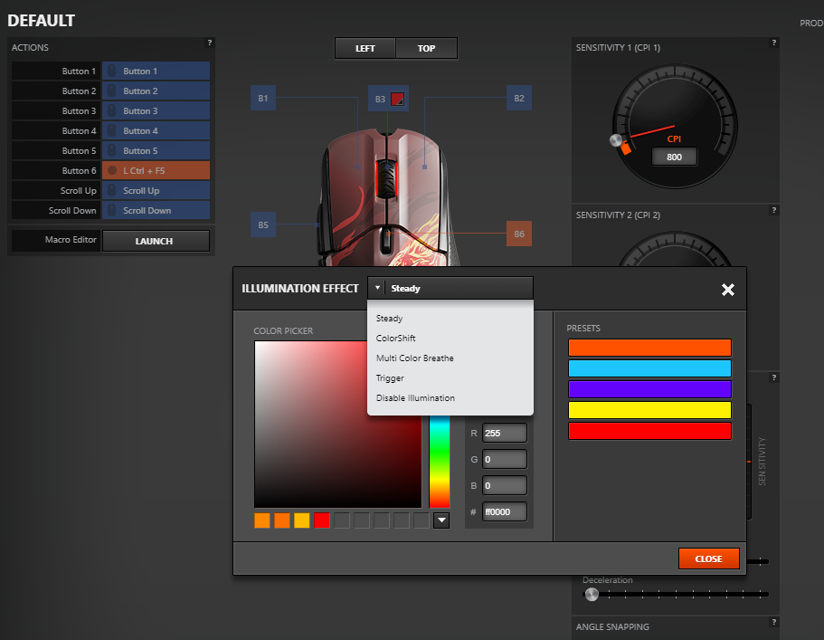 Steelseries Rival 310 CS.GO Howl edition - RGB color change options - Phong Vũ