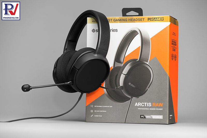 Steelseries Arctis RAW gaming headset - Phong Vũ