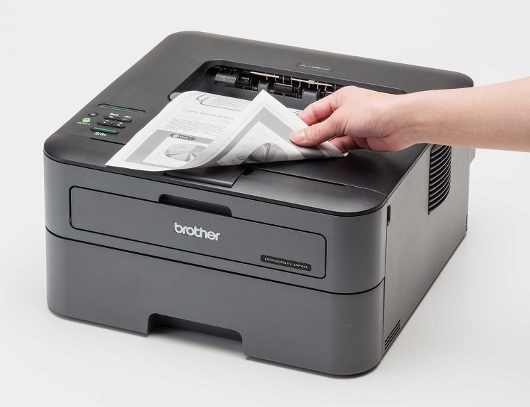 Select the printer that has the function of reverse printing