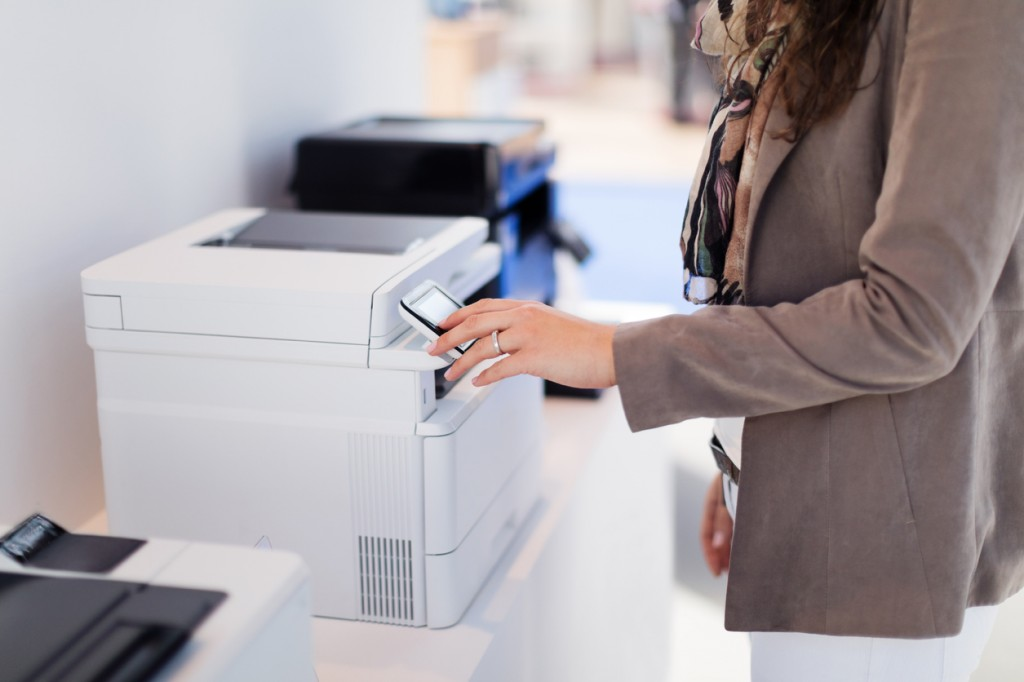 Printer options with LCD screen for easy control