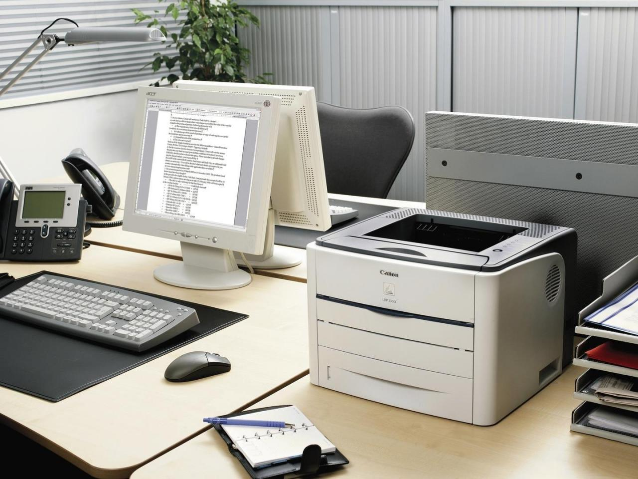 Printer for office work extremely effectively