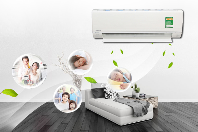 Air conditioner panaasonic brings good sleep to the whole family