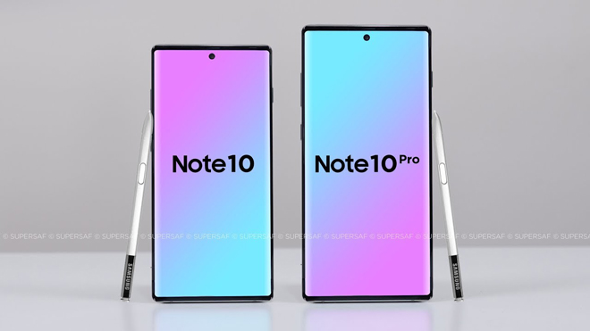 galaxy note 10 and note 10+