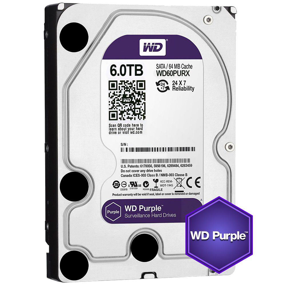 WD HDD Purple
