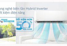 Tìm hiểu công nghệ Hybrid Inverter của máy lạnh Toshiba