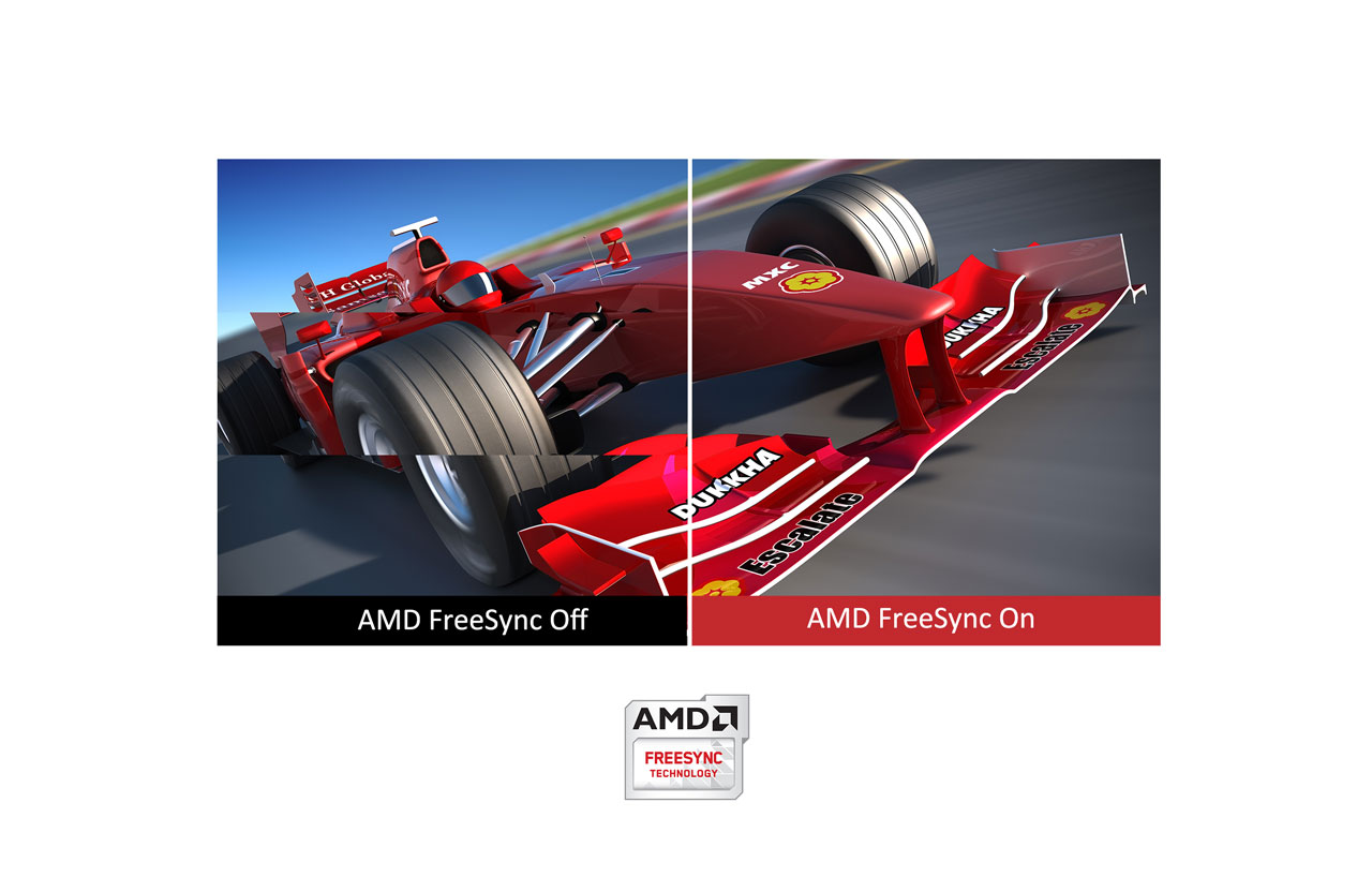 AMD FreeSync delivers smooth, seamless images