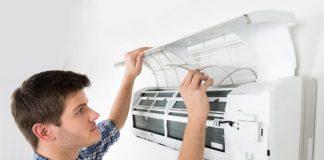 Máy lạnh bị chảy nước lâu dài sẽ gây ẩm thấp khó chịu.