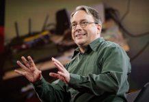 Ông Linus Torvalds - cha đẻ của hệ điều hành Linux