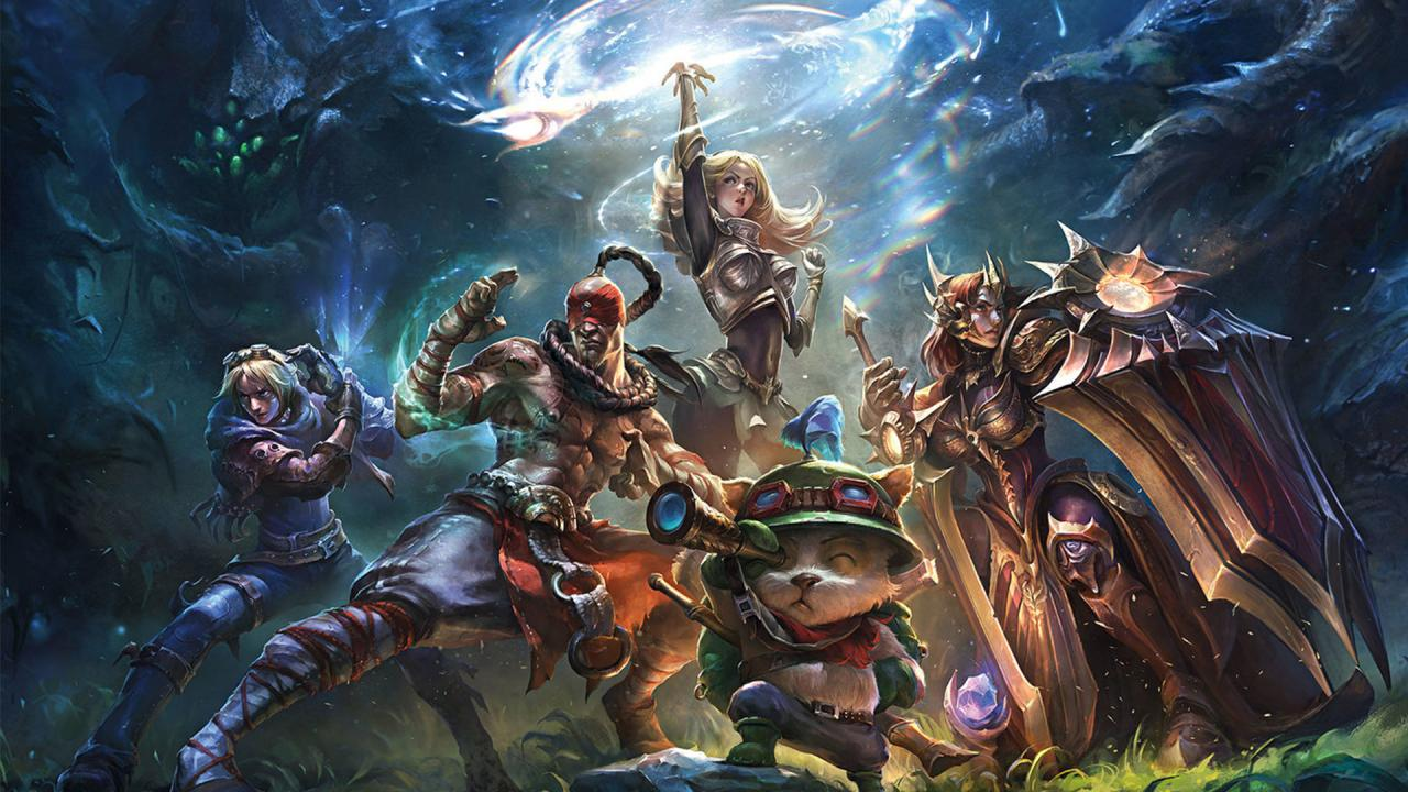 League of Legends huyền thoại cả trong top game hay pc