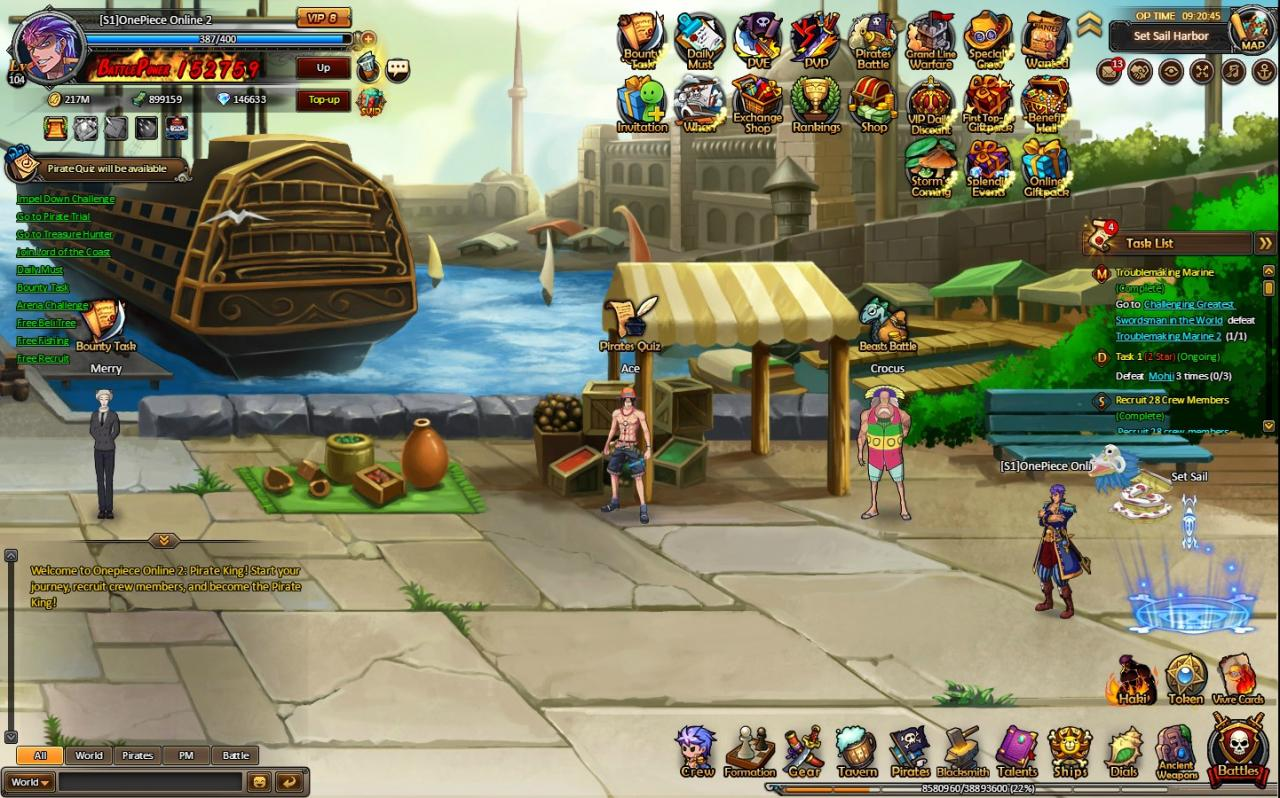 One Piece Online 2: Pirate King