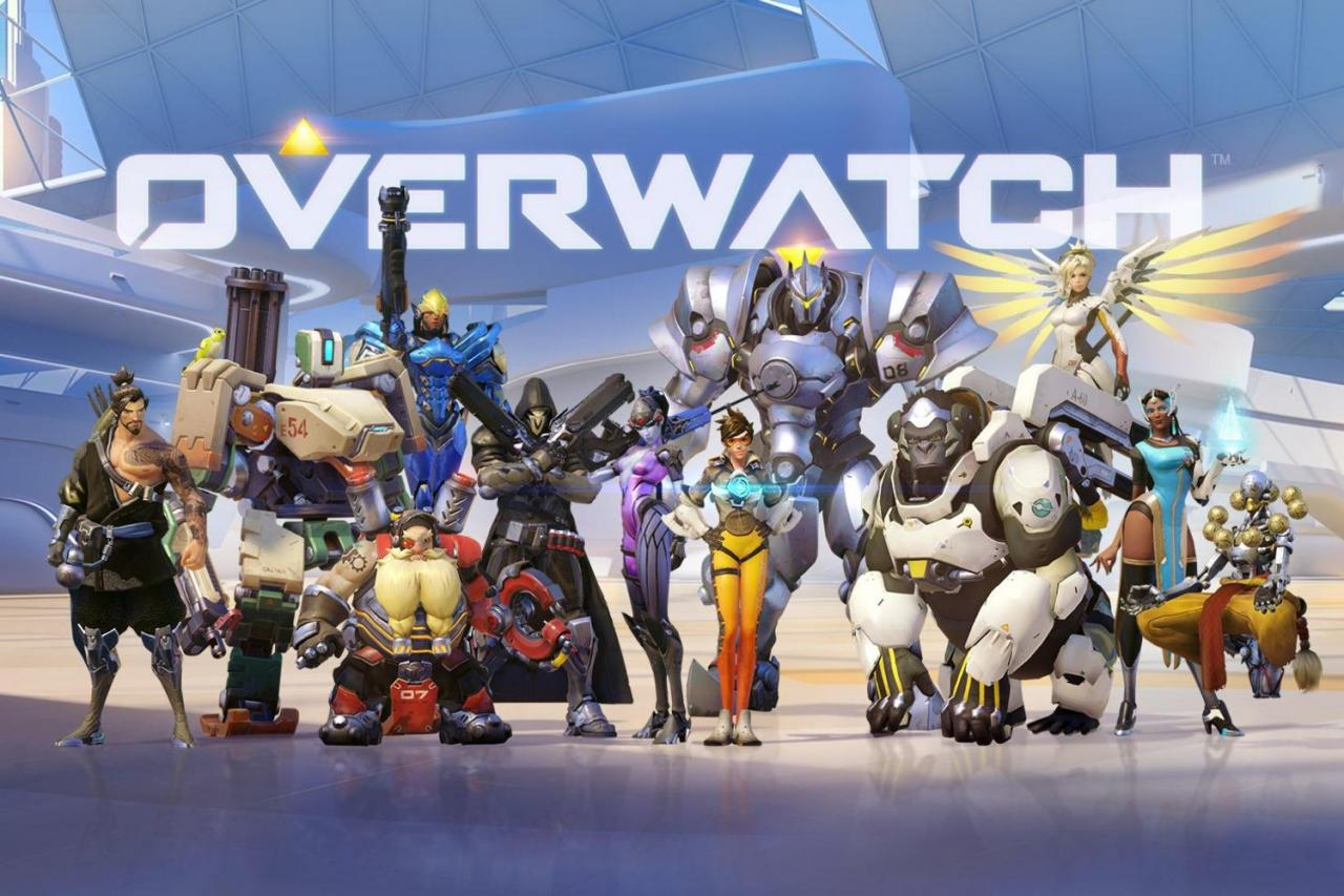 Overwatch xứng game hay nhất 2016