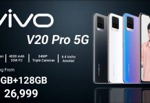 V20 Pro 5G: Snapdragon 765G, 8GB RAM, 3 camera sau 64MP