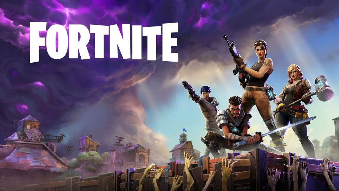 game bắn súng fortnite