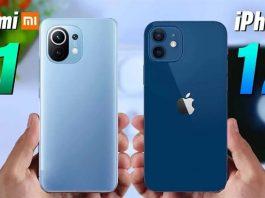 """So sánh Xiaomi Mi 11 vs iPhone 12: Đều là """"khủng long"""", nên chọn máy nào?"""