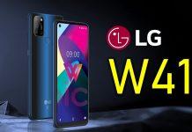 LG W41: Smartphone mới nhà LG với màn hình nốt ruồi, 4 camera sau và giá rẻ