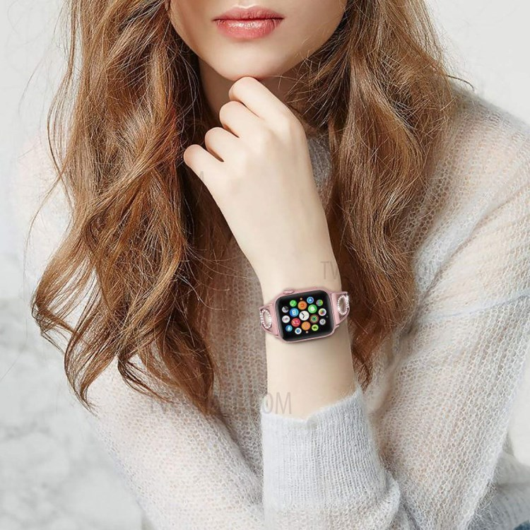 The Apple Watch is both a smart device and a stylish jewelry