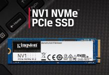 Kingston ra mắt ổ SSD NV1 NVMe PCIe: hiệu năng ổn mà giá càng ổn