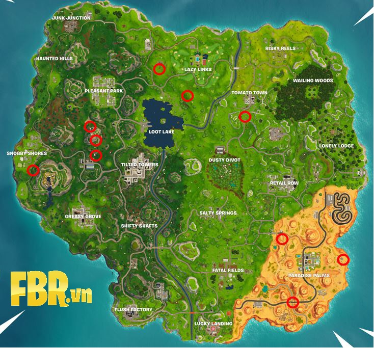 map fortnite