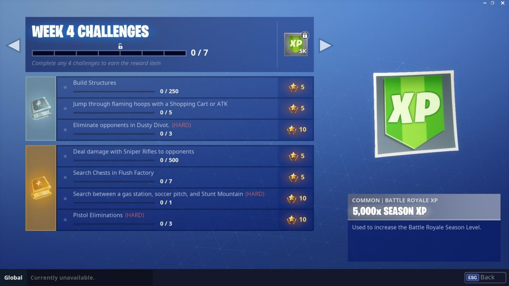 fortnite challenges