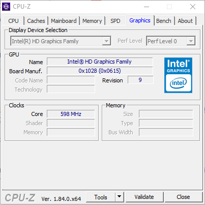 GraphicsCPU-Z