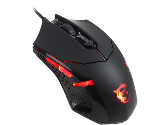 Chuột MSI Interceptor DS B1 1600 DPI Optical Gaming USB Red Led