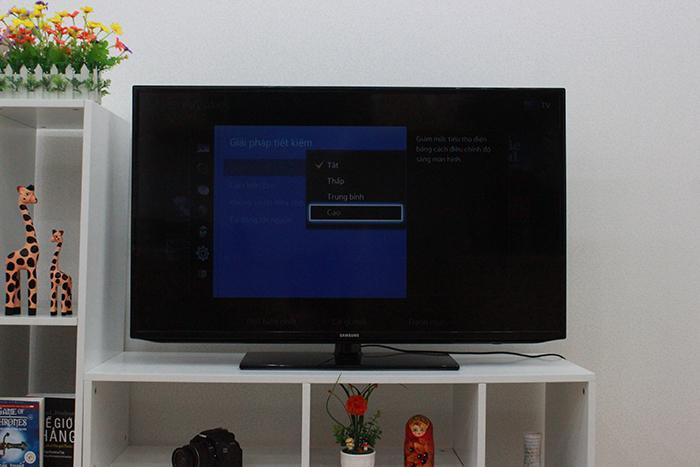 cách cài đặt chế độ tiết kiệm điện trên tivi Samsung-7