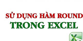 Hàm ROUND trong Excel