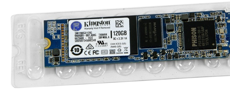 Ổ cứng SSD Kingston 120GB M2