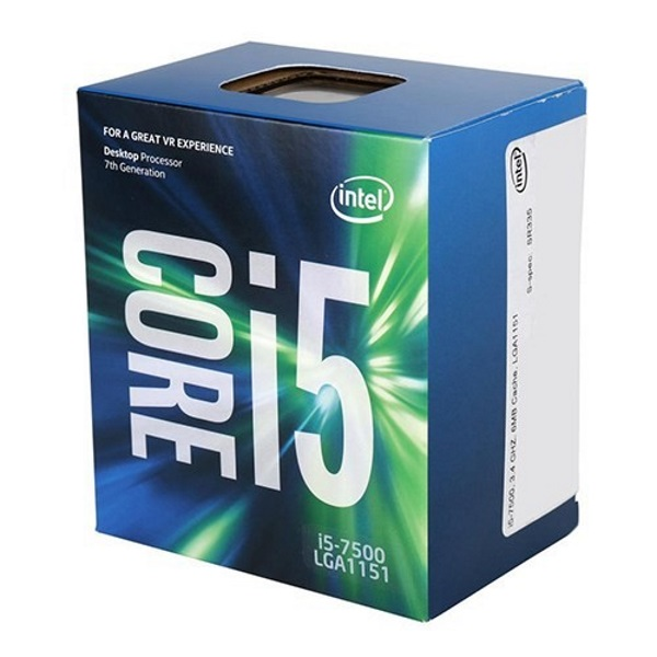 Bộ vi xử lý/ CPU Intel Core i5-7500 (6M Cache, up to 3.8GHz)
