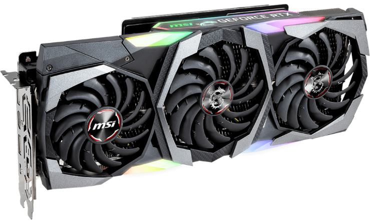 MSI RTX 2080 Gaming X TRIO 8GB