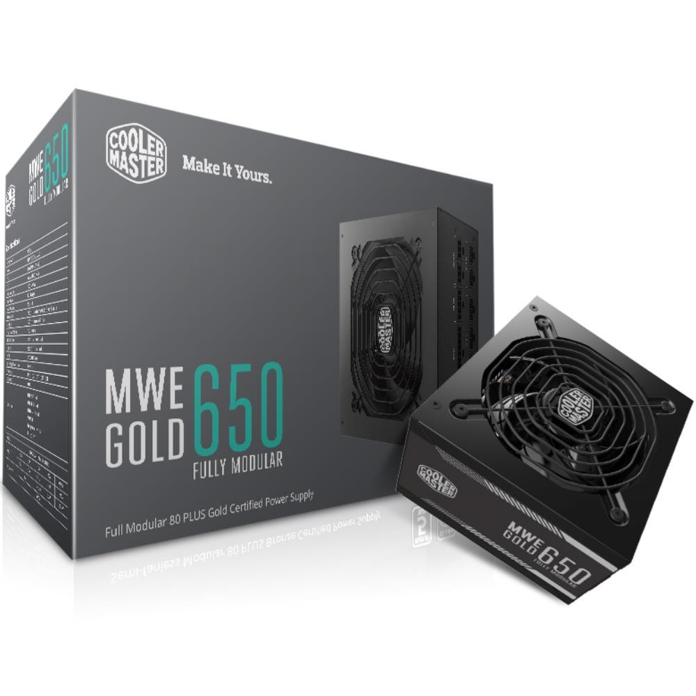 Power CM MWE Gold 650W - 80 Plus Gold - Full Modular (MPY-6501-AFAAG)