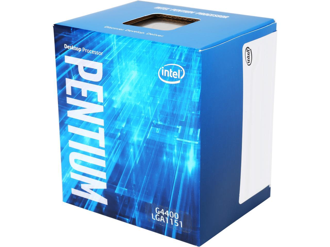 CPU Intel Core Pentium G4400 3.3G / 3MB / HD Graphics 510 / Socket 1151 (Skylake).