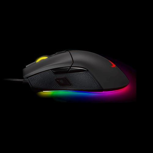 Chuột chơi game ASUS ROG Gladius II Aura Sync USB Wired Optical Ergonomic